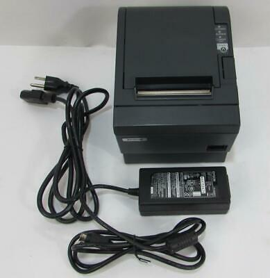 Epson TM-T88IIIP Thermal Receipt Printer M129C POS - PARALLEL - USED - Tested