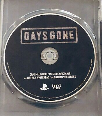 Days Gone PS4 Collector's Limited Edition Original Music Sound Track (No Game!)