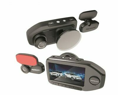 """PAPAGO! GoSafe 760 Full HD 1080p Dashcam with 2.7"""" LCD Screen+Rear Camera,New"""