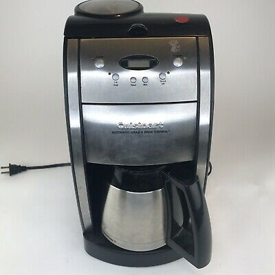 Cuisinart DGB-600BC Automatic Grind and Brew Coffee Maker 10 Cup Thermal Carafe