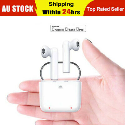 Dual Wireless Bluetooth Earbuds Earphone Fr Apple iPhone Airpods Android IOS AU