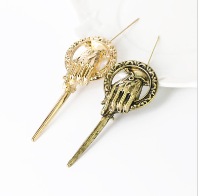 Game of Thrones Song of Ice And Fire Brooch Hand of the King Lapel Badge Pin