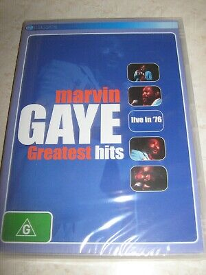 MARVIN GAYE Greatest Hits Live in '76 NEW & SEALED DVD