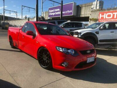 2008 Ford Falcon FG XR6 Red Automatic A Utility