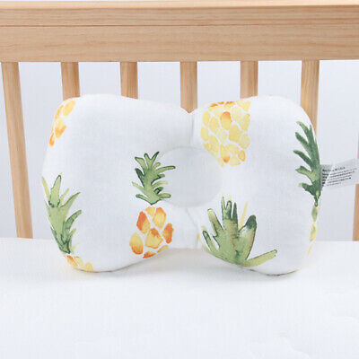 Newborn Baby Breathable Infant Cotton Pillow Positioner Prevent Head Anti Roll