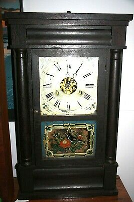 Antique Mantel Clock - Seth Thomas, Ogee Weight Driven