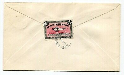 Canada AIRMAIL - Western Canada Airways 1927 Red Lake ONT - Semi Official Cover