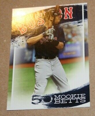 2019 Topps Series 2 Mookie Betts Highlights Wal-Mart **Take Your Pick**
