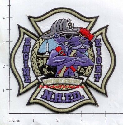 Connecticut - New Haven Engine 8 CT Fire Dept Patch - Whitney Station