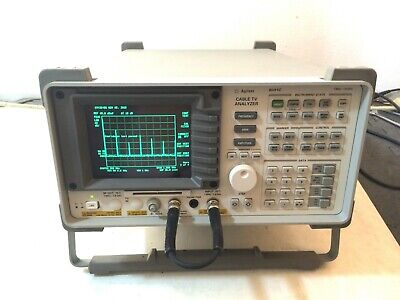 Hp Agilent Keysight 8591C Télévision par Câble Analyseur 1.8 GHZ Opt 4 101 105