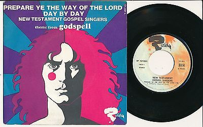 "New Testament Gospel Singers (Starring Dave) 45 Tours 7"" France Prepare Ye The"