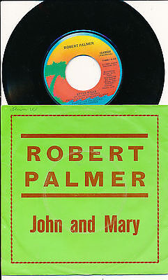 "Robert Palmer 45 Tours 7"" John And Mary"
