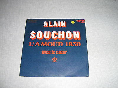 Alain Souchon 45 Tours France L'amour 1830