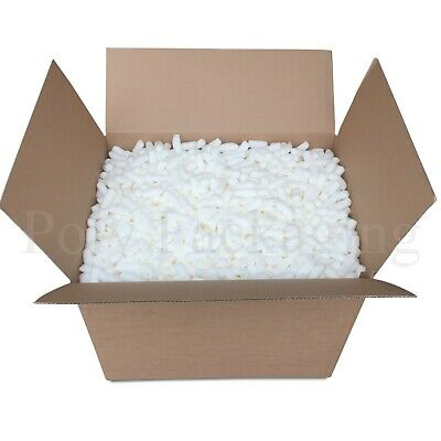 6 Cubic Feet of ECOFLO LOOSE FILL Biodegradable/Void Fill/Packing Peanuts
