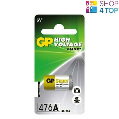 Gp Alkaline High Voltage Battery 476A 6V 4Lr44 No Mercury 476Af-2C1 Exp 2022 New