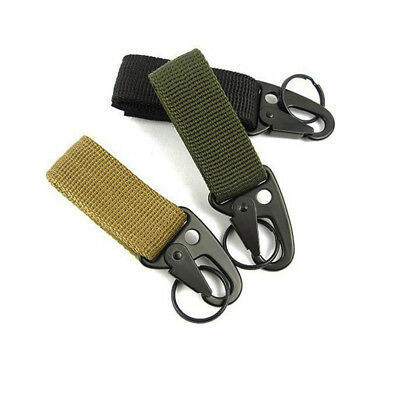 Outdoor Camping Training Military Belts Buckle Hunting Locks Equipment Carabiner