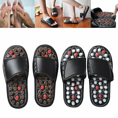 Foot Acupuncture Slippers Massage Shoes Sandals Massager Reflexology Slipper NW