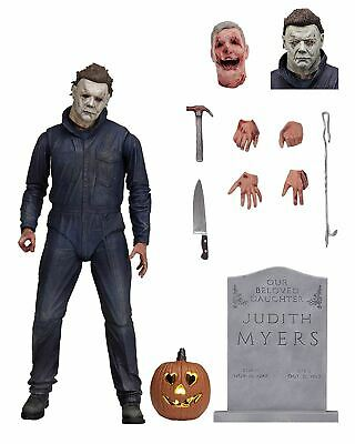 """NECA Halloween 2018 Movie Ultimate Michael Myers 7"""" Scale Action Figure New"""