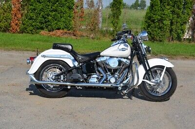 Harley-Davidson FLSTS Heritage Springer Softail bj.2005 Fishtail exhaust