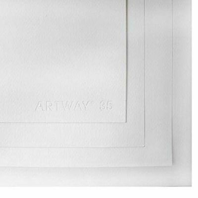 Artway Watercolour Paper A1 - 300gsm - 35% Cotton - Cold Pressed - Natural White