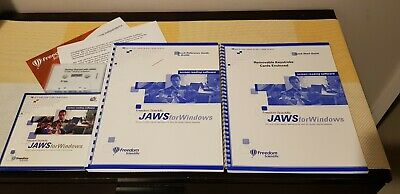 Freedom Scientific Jaws 10 for Windows screen reader for visually impaired