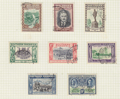 Southern Rhodesia 1940 Golden Jubilee set  fine used, will be removed from page.