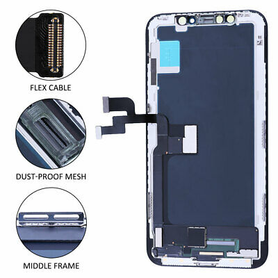 For iPhone X Display LCD Touch Screen Digitizer Assembly Replacement  A+ Quality