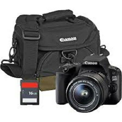 Canon EOS 1300D DSLR Camera with EF-S18-55 DC III F3.5-5.6 Lens + Bag+ 16gb sd