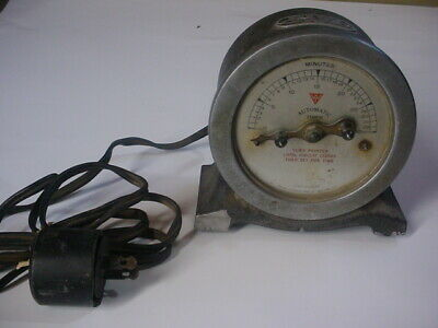 RARE VINTAGE AC-DC Current Walser Automatic Timer Co. New York