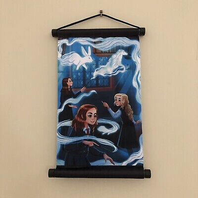 Patronus Lessons Wall Scroll Harry Potter Room Of Requirement