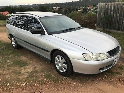 2003 VY Commodore Station Wagon. NO RESERVE. Registered. May need new engine.