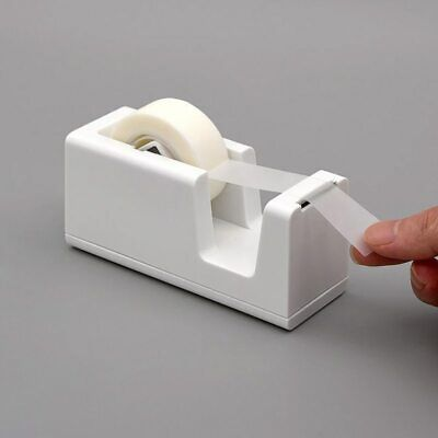 HEAVY DUTY TAPE DISPENSER Desktop Office Sellotape Cellotape Pack Holder 2 Rolls