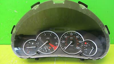 PEUGEOT 206 SE Speedo/Instrument Cluster Clock set Petrol 9651741580 Single plug