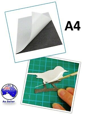 A4 Self Adhesive Magnetic Sheet Self Adhesive Thickness Crafts Material