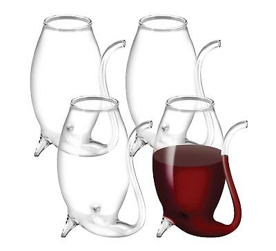 Avanti Set of 4 75ml Glass Port Sippers