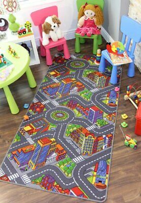 Big City Interactive Fun Roads Play Time Roads City Streets Cheap Children's Rug