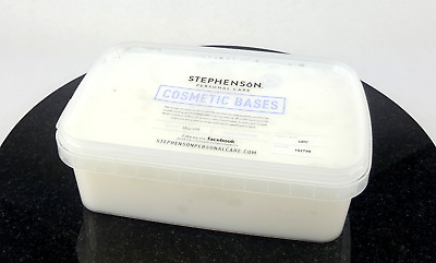 Foaming Bath Butter Base 2kg - Melt and Pour - SLS SLES Free - Crystal OPC