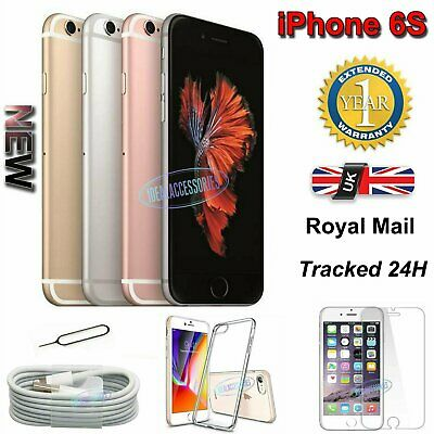 New Apple iPhone 6s 16GB 32GB 64GB 128GB Sim Free Unlocked Smartphone Plus Gift