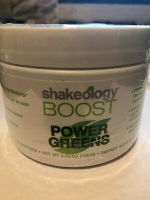 Shakeology Power Greens Boost New and Sealed. BEST BEFORE DATE 05/2018
