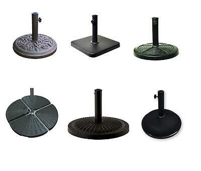 New Parasol Base Stand Weights for Banana Hanging Cantilever Umbrella Patio