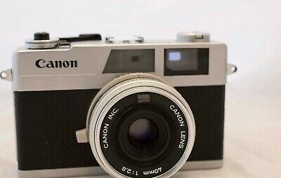 CANON Canonet 28 40mm Rangefinder 2.8 Film Camera ***Please read***