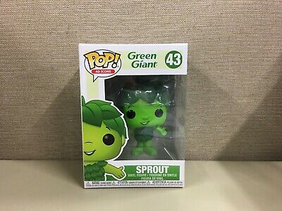 Funko Pop! Ad Icons: Green Giant Sprout #43 Vinyl Collectible Figure New In Box