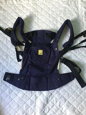 Lillebaby Baby Carrier Navy Blue Lille Baby Embossed Soft And Lightweight