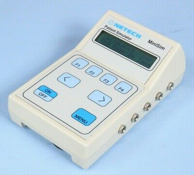 Netech MiniSim Patient Simulator Tested with Warranty!! Biomed Monitor Simulator