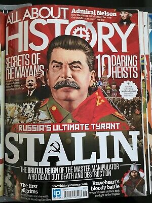 All About History Magazine Issue 16, Stalin, Nelson, Mayans