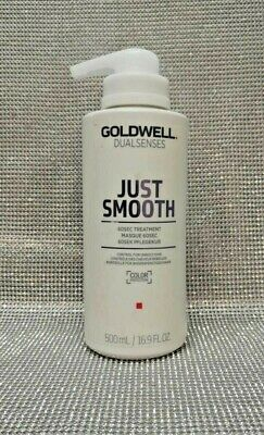 GOLDWELL DUALSENSES JUST SMOOTH 500ml NEW FREE P&P