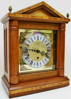 Franz Hermle 8 Day Triple Chime Musical Bracket Clock Westminster Chime Clock