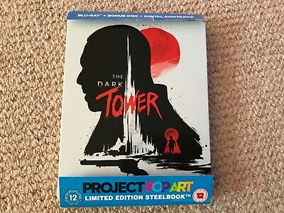 The Dark Tower - Blu-Ray Steelbook - Used - Bent case