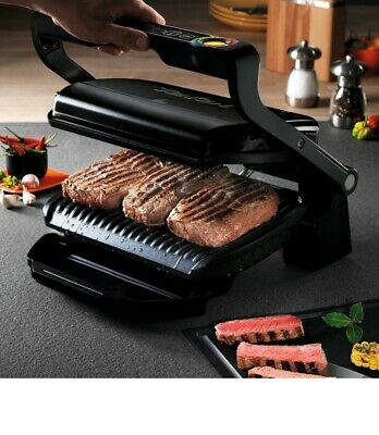 Tefal GC 7128 Optigrill + Contact Grill Electric Grill 2000W 6 Grill Programs