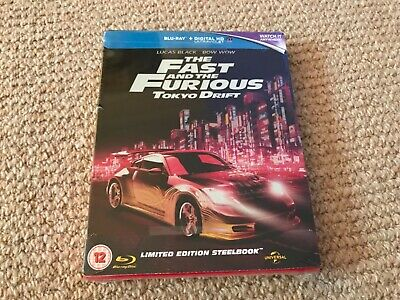 The Fast and the Furious Tokyo Drift - Blu-Ray Steelbook - slight dent